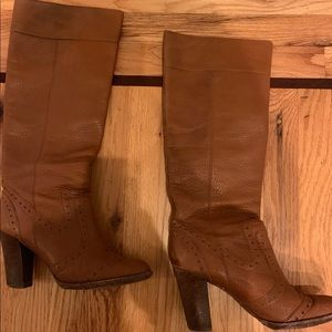 "Michael Kors ""Penelope"" Leather Boots - size 8"